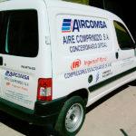 vinilo_furgoneta_aircomsa